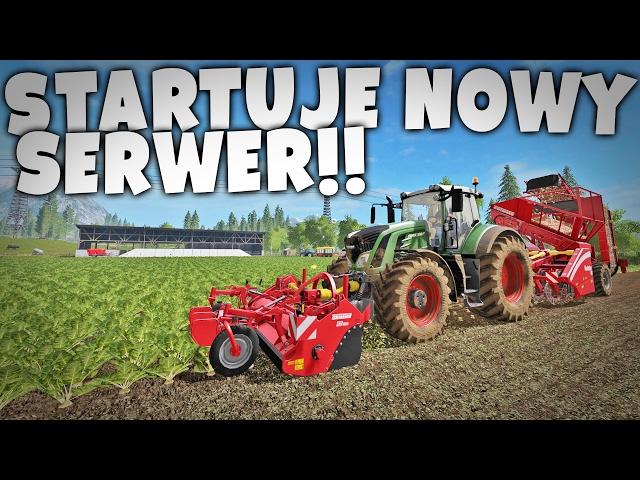 NOWA MAPA!   FARMING 17 (LIVE)