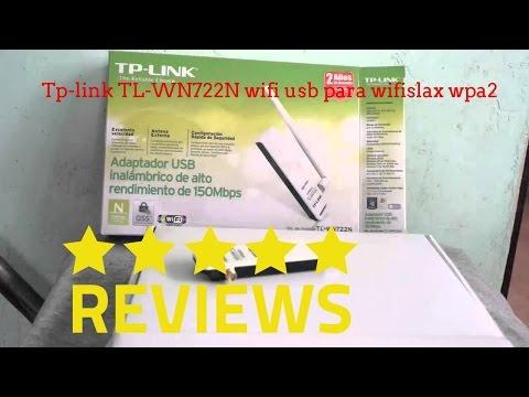 Tp-link TL-WN722N wifi usb para wifislax wpa2