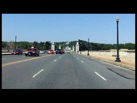 Arlington Memorial Bridge westbound
