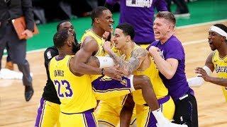 """""""SULLA SIRENAAA! QUESTO E' SPORT!"""" - Il MERAVIGLIOSO FINALE tra Lakers e Celtics (Live🎙F.Tranquillo)"""