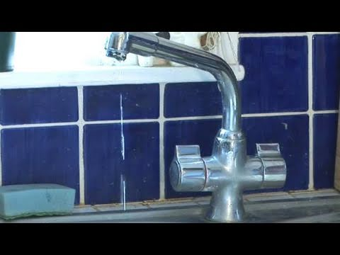 how to repair a ceramic disc dripping tap youtube. Black Bedroom Furniture Sets. Home Design Ideas