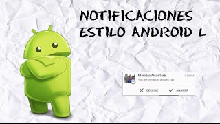 Notificaciones Android Lollipop Sin Root