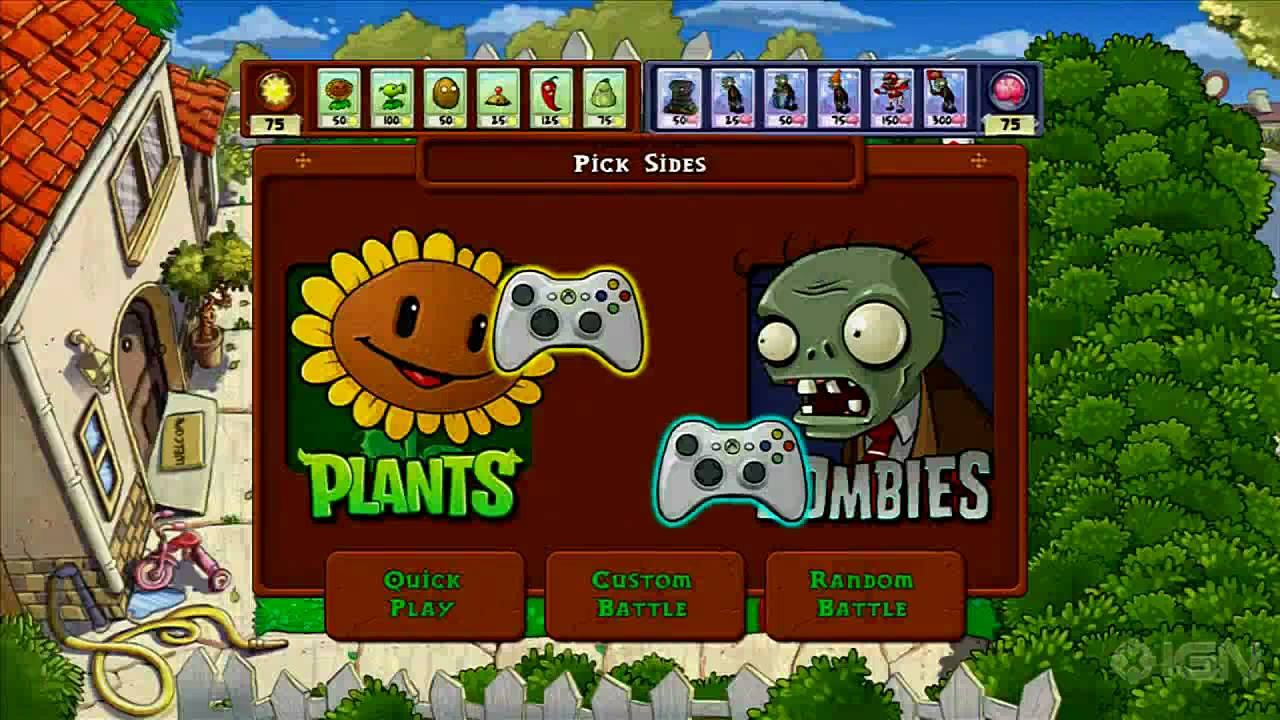 Plants vs zombies xbox survival endless