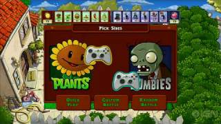 Thumb Trailer del juego Plants vs. Zombies para el Xbox 360