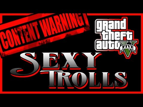Gta 5 - Glitching Queen Does Sexy Trolls video