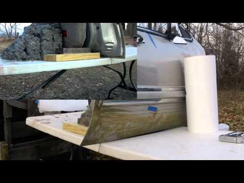 25 ACP from a Colt 25 Automatic vs a car door - Penetration Test