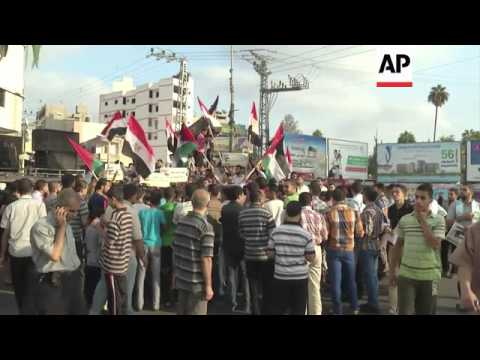 Protests in Gaza City and Tel Aviv over Egyptian crackdown