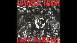 Watch Agnostic Front Last Warning video