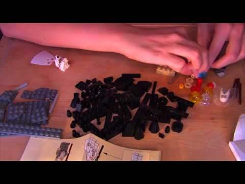 Time Travel Tuesday: Lego - ASMR - Soft Spoken. Tapping. Crinkling. Mindful Movements