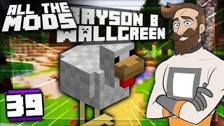 Minecraft All The Mods #39 - Bryson The Chicken