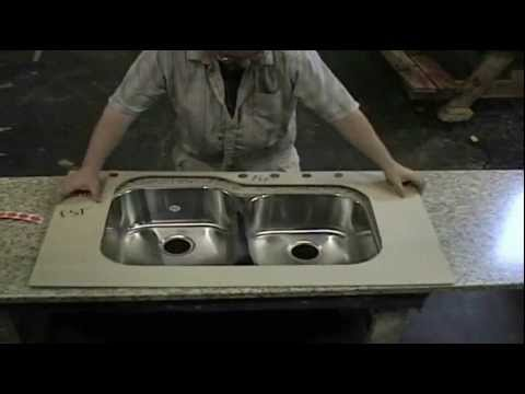 Install An Undermounted Stainless Steel Sink In A Laminate