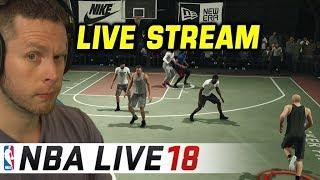 NBA LIVE 18 LIVE STREAM!