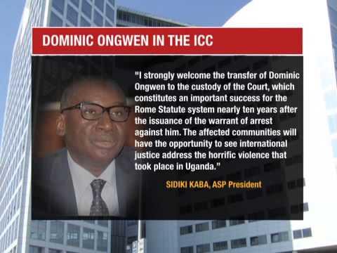 ICC SPEAKS OUT ON DOMINIC ONGWEN-MAURICE OCHOL, UGANDAN JOURNALIST