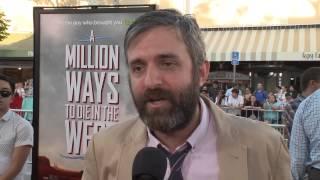 A Million Ways to Die in the West: Alec Sulkin Red Carpet Premiere Interview
