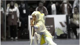 12th World Wushu Championships, Women Gunshu TUR Zeynep Akyuz 9.20