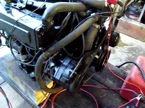 SOLD Mercruiser Engine 351 Windsor Ford Boat Motor. Dressed and Running in Middle Tennessee