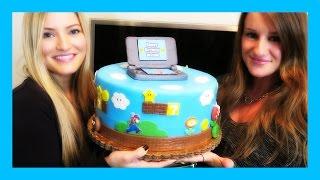 AMAZING MARIO CAKE!!!!