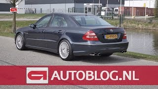 Mijn Auto: Mercedes E55 AMG van Erwin
