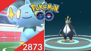 REGISTRO A SHINX EN BUSCA DEL SHINY! MI NUEVO EMPOLEON! [Pokémon GO-davidpetit]