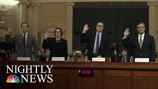 Legal Scholars Say Trump Has Committed Impeachable Offenses At Judiciary Hearing | NBC Nightly News