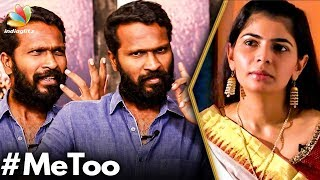 Question the Sexual Harasser & Not the Victim : Vetri Maaran on Me Too | Chinmayi, Vairamuthu