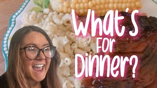WHAT'S FOR DINNER? +LUNCH IDEAS! JULY 2020