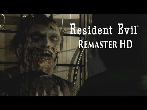 Resident Evil Remaster HD - Chris Redfield Gameplay (PS4)