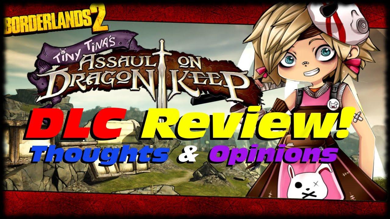 Borderlands 2 Tiny Tina Assault On Dragon Keep DLC Review ... Borderlands 2 Scaling Dlc Uvhm