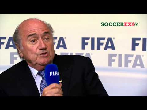 Sepp Blatter will stand again as FIFA president