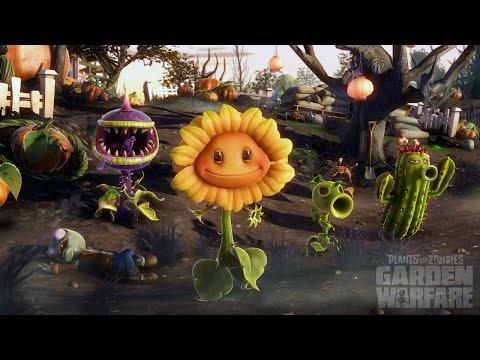 Plants Vs Zombies Garden Warfare Viva as Plantas