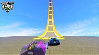قراند 5 : سباق سيارات الصاروخية ماب رائع🐸🐸 GTA Online Rocket Car Racing