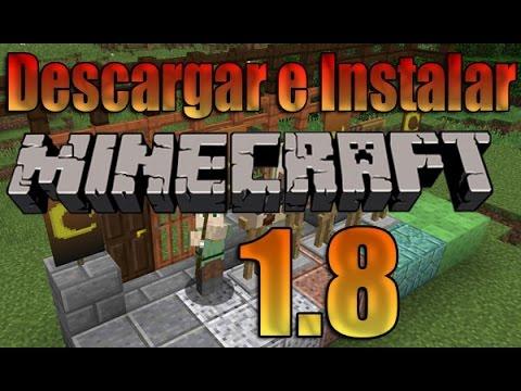 Como Descargar e Instalar Minecraft 1.8 Gratis[Actualizable] Nuevas Cosas !! :D