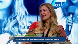 Leila Pereira no Aqui Com Benja! - Programa Completo
