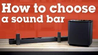 01. How to choose a sound bar | Crutchfield
