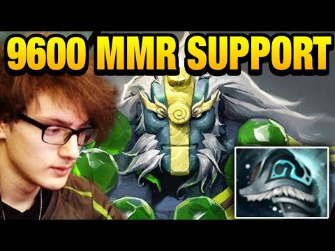 9600 MMR PRO Supporter Miracle- [Earth Spirit] Dota 2