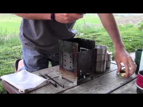 STANLEY Cook Set Review / Folding Firebox Camp Stove
