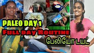Paleo Diet Challange Day 1 | Paleo Day in my Life | பேலியோ டயட் முதல் நாள் உணவுகள் | Raji's Kitchen