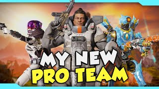 Running Ranked With My Pro Team! - Apex Legends Season 4 PC Gameplay