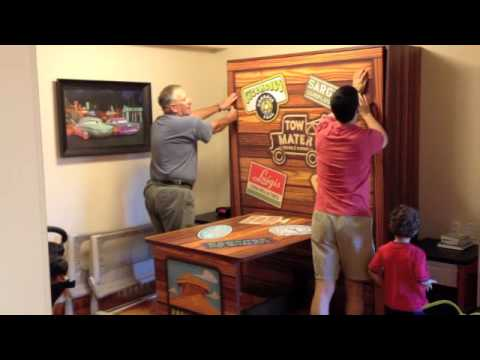 Disney Art Of Animation Car Suite Murphy Bed Youtube
