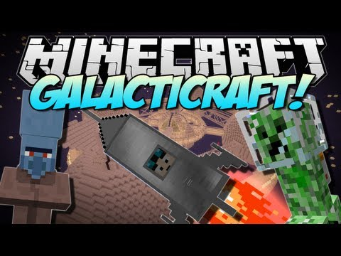 Minecraft | GALACTICRAFT! (The Moon, Space Stations & More!) | Mod Showcase [1.6.2]