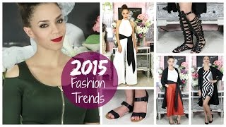 2015 Fashion Trends - Style Tips, Dresses, Heels, Flats, Gingham, Leather