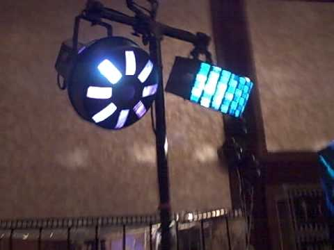 Rockin Robins DJs DJ Equipment setups with Lighting