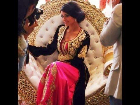Caftan marocain et takchita haute couture de la collection 2014 2015