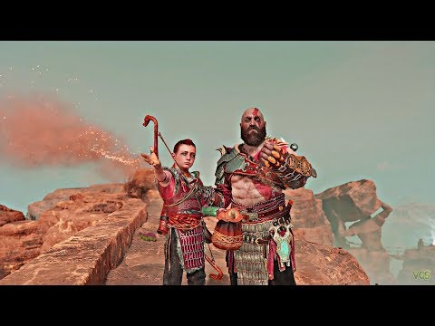 God of War - Scattering Faye's Ashes (Ending)