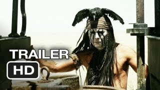 The Lone Ranger (2013) - Official Trailer