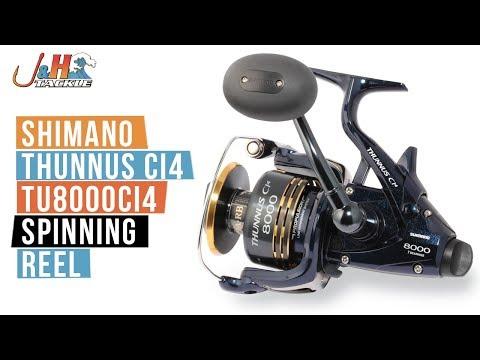 Shimano Thunnus Ci4 TU8000CI4 Spinning Reel | J&H Tackle