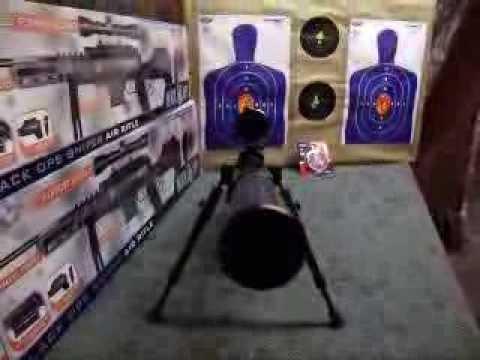 Ignite black ops sniper air gun 627 PELLETS
