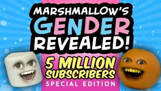 Annoying Orange - Marshmallow's Gender Revealed!!! (5 MILLION Subscriber Special)