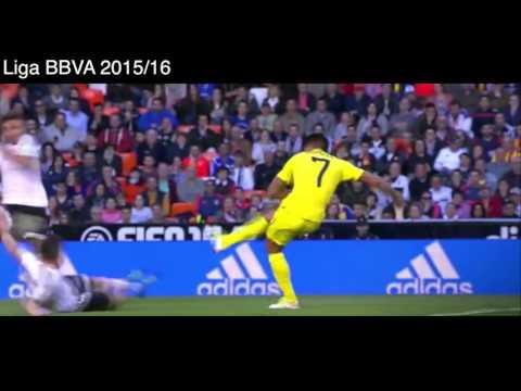Valencia 0 - 2 Villarreal, Goles y Resumen, Liga BBVA 2016