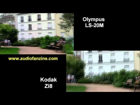 Olympus LS-20m vs Kodak Zi8